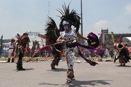 Des indigènes commémorent le dernier jour de l'empire aztèque