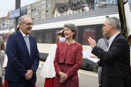 Guy Parmelin en visite à Fribourg