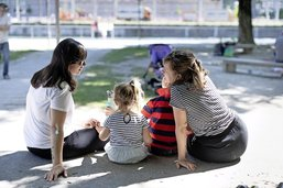 L'enfant au centre de l'attention