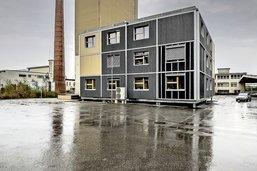 Un pavillon novateur à Bluefactory