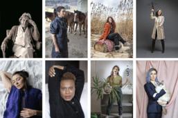 Cent femmes, cinquante portraits