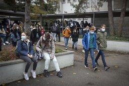 Plus besoin de porter le masque à l'école