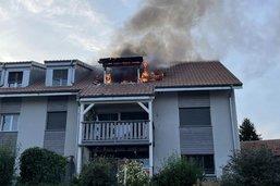 Incendie à Rueyres-les-Prés à cause d'un grill