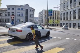Une campagne pour le «fair-play» routier lancée à Fribourg