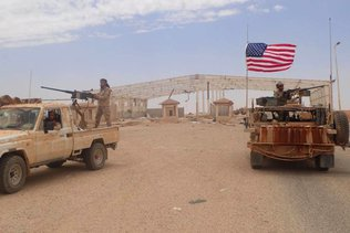 Des explosions dans une base en Syrie utilisée par les Etats-Unis