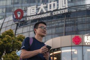 Plongeon de l'action Evergrande à la bourse de Hong Kong